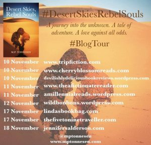 A list of the blogs that participate in this blog tour along with the dates each blog participates