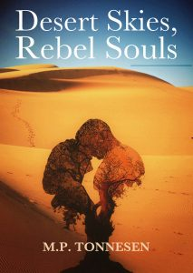 The front cover of Desert Skies, Rebel Souls