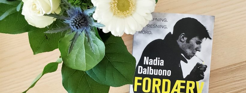 The book The Few by Nadia Dalbuono on a table