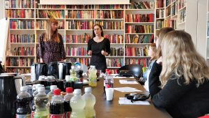The authors Caroline Ørsum and Camilla Wandahl talks about the process of writing YA literature