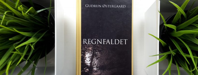 The Book Regnfaldet (in English: The Rainfall) is lying between green plants